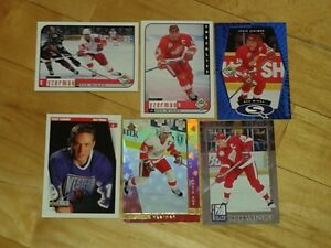 Cartes de Hockey Yzerman - lots de 14 belles cartes (20%)