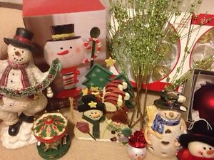 Christmas ornaments- snowman - lot Cambridge Kitchener Area image 2