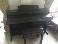 Roland HP7e Grand Sound Digital Piano
