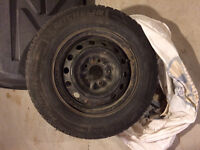 4 x 14in Michelin Ice winter tires