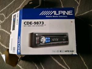 Alpine CDE-9873 car stereo