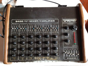 Traynor 6400 Mixer/Amp and ROSS Speakers