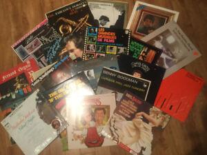27  Disque  ancien vinyle 33 tour