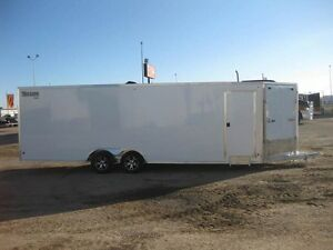 2017 Mission Trailers 8.5X24'+ MCH ALL SPORT SLED TRAILER