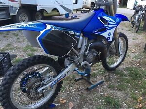 YZ 125 bore out to 144cc great shape