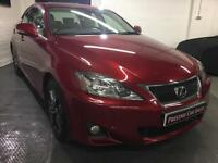 Lexus IS 200d 2.2TD 2011MY Advance,Sat Nav,Rear Camera,Full history