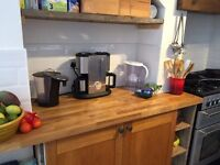 Coffee Filter Machine and milk warmer/frother - Morphy Richards