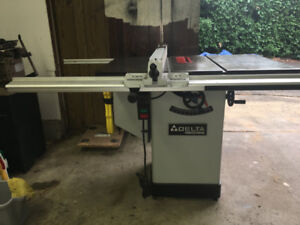Delta 10 inch Tilting Arbour Saw