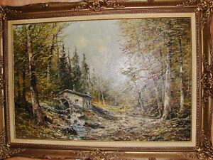 Antique Painting by Famous Painter J. Kugler