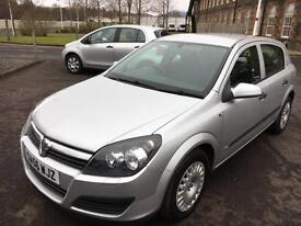 5606 Vauxhall Astra 1.3CDTi 16v 90ps Life Silver 5 Door 80358mls MOT Jan 2018