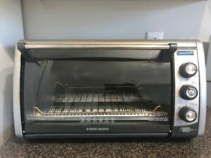 Black and Decker 12 inch Toaster Oven