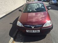 Vauxhall Corsa 1.0L,6 month MOT reg 05 only @£755