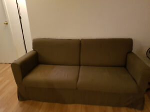 GREY SOFA COUCH **GOOD CONDITION, GREAT PRICE**