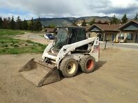 Construction Contracting - Bobcat - Tractor - Carpentry
