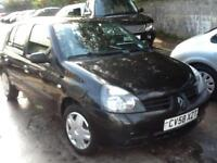 Renault Clio 1.2 ( a/c ) Campus NEW MOT,ONLY 640000,1 PREVIOUS OWNER 5 DOORi