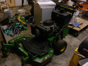 john deere gs30 walk behind mower