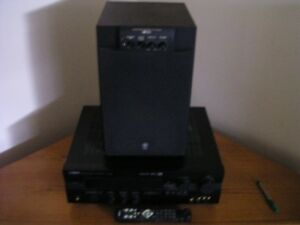 Yamaha Amp,Subwoofer and corner cabinet Kawartha Lakes Peterborough Area image 2