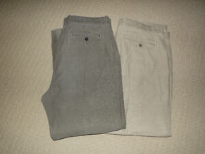 Men's pants and khakis - 40 waist - 11 pair for $40 !!
