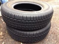 Uniroyal Tiger paw tires 215/70R15