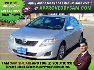 COROLLA - Payment Budget and Bad Credit? GUARANTEED APPROVAL. Windsor Region Ontario image 1