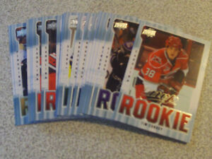 22 CARTES DE HOCKEY ROOKIES DE UPPER DECK MVP 2008-09
