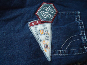 Boys Size 12 Months Patchwork Lightweight Jean Overalls Kingston Kingston Area image 4