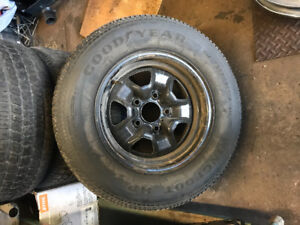 Oldsmobile tires and rims