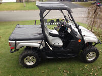 ONE OWNER 2008 YAMAHA RHINO 700 SPECIAL EDITION