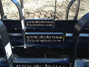 COMPACT TRACTOR OR SKID STEER PALLET FORK IN STOCK PROMOTION