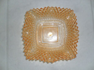 Antique Carnival Glass candy dish