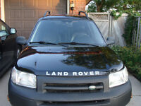 2003 Land Rover Freelander SUV Low mileage 70000km