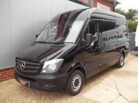 £ 65 A WEEK - 2015 NEW SHAPE MERCEDES SPRINTER 313 CDI 129 HP MWB VAN
