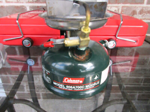 Coleman single burner stove model 508