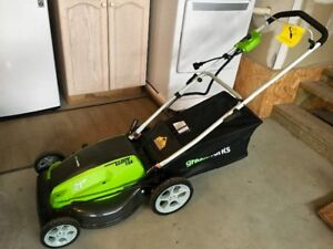 GreenWorks 13 Amp 21-Inch Corded Lawn Mower