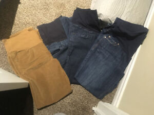 Maternity clothes size med and lg