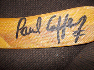 ---------SIGNED PAUL COFFEY COLLECTOR SERIES 250 STICK----------
