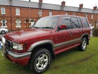 Vauxhall Trooper Monterey 3.2i V6 auto LTD LPG PX Swap Anything considered