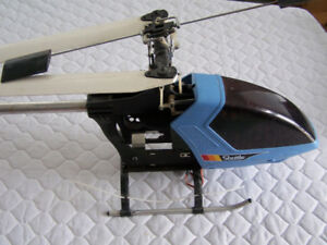 Hirobo Shuttle Helicopter, Parts -pre-owned