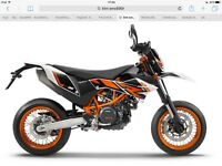 Ktm smc690r brand new bike save £1000 part ex and delivery