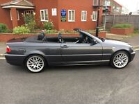 BMW 318 convertible 2006 98000 miles fsh