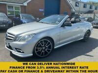 2011 Mercedes-Benz E-CLASS 2.1 E220 CDI BLUEEFFICIENCY SPORT 2d 170 BHP Converti