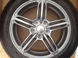 Audi A4 tire's  205 55 16 like new