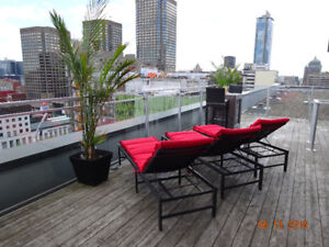 Luxury 3 bedroom Condo Place des Arts