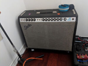 1972 Silver Face Fender Twin Reverb