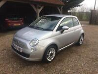 FIAT 500 SPORT 72000 MILES 2009 Petrol Manual in Silver