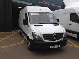 Mercedes-Benz Sprinter 313CDI LWB 14/2014 reg 91000 miles