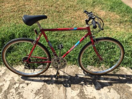 Mens or ladies vintage hybrid road bike MTB light steel new tyres  West Melbourne Melbourne City Preview