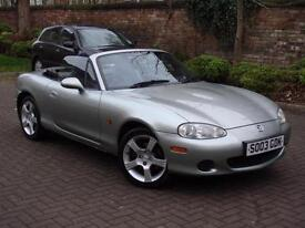 EXCELLENT EXAMPLE! 2003 MAZDA MX5 1.6 LIMITED EDITION NEVADA ROADSTER CONVERTIBL