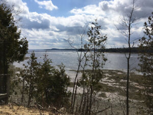 Waterfront  Serviced Lot for Sale in Oak Bay, NB