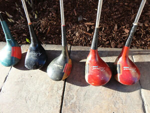 Set of Vintage 1960's Golf Clubs and Golf Bag (Woods and Irons) Kitchener / Waterloo Kitchener Area image 4